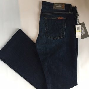7 for all mankind 'A' Pocket Boot-Cut Jeans - NEW